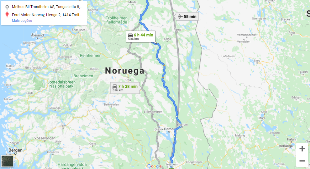 福特野马Mach-E在挪威不间断行驶484公里_蜀车网