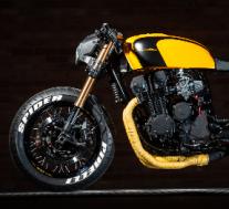 KrisBiker的高度定制本田CB750 F2摩托车