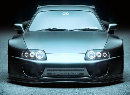 中置跑车传闻出现,中置引擎的Mk4 Toyota Supra渲染图