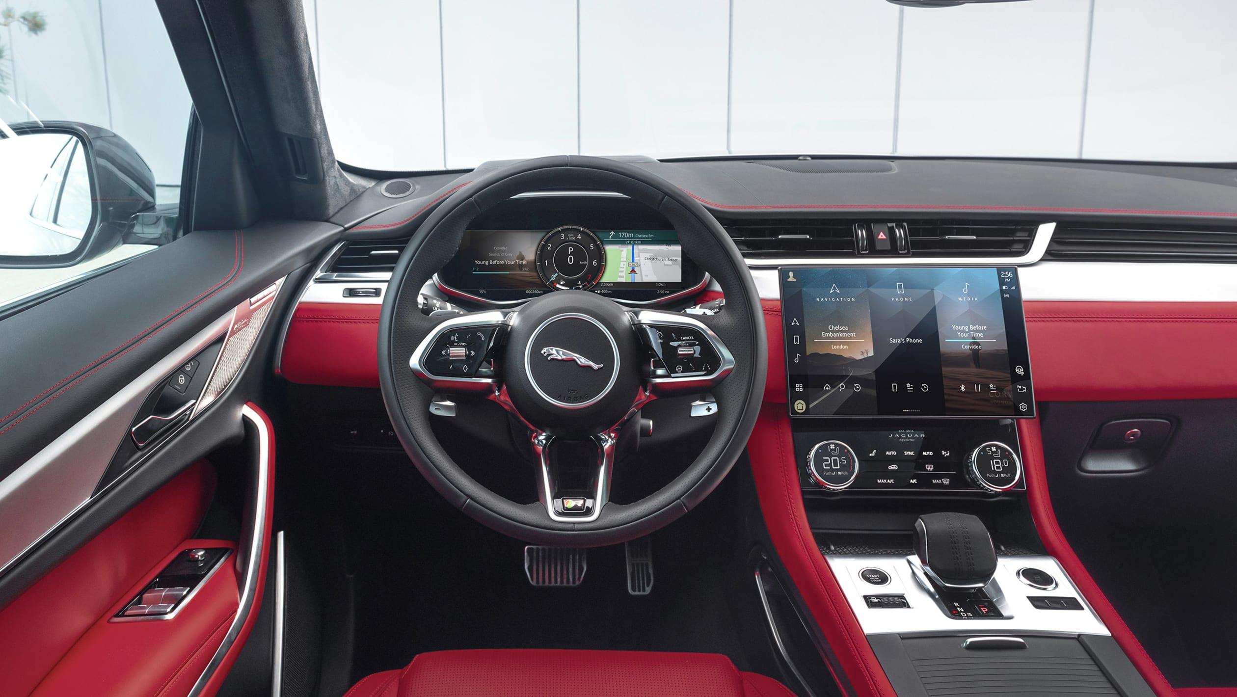 新款捷豹 F-Pace改款采用插电式混合动力版