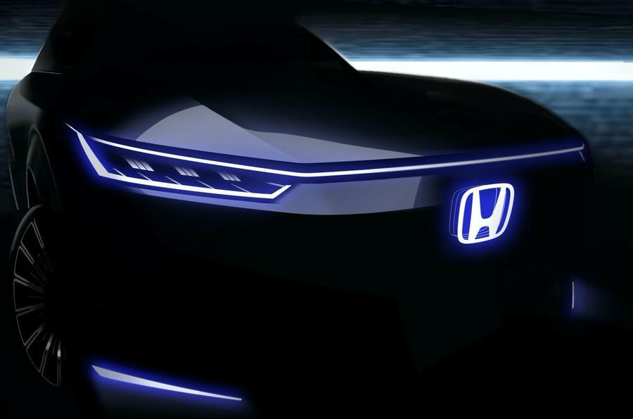 本田在北京车展揭幕前预告第二款电动汽车