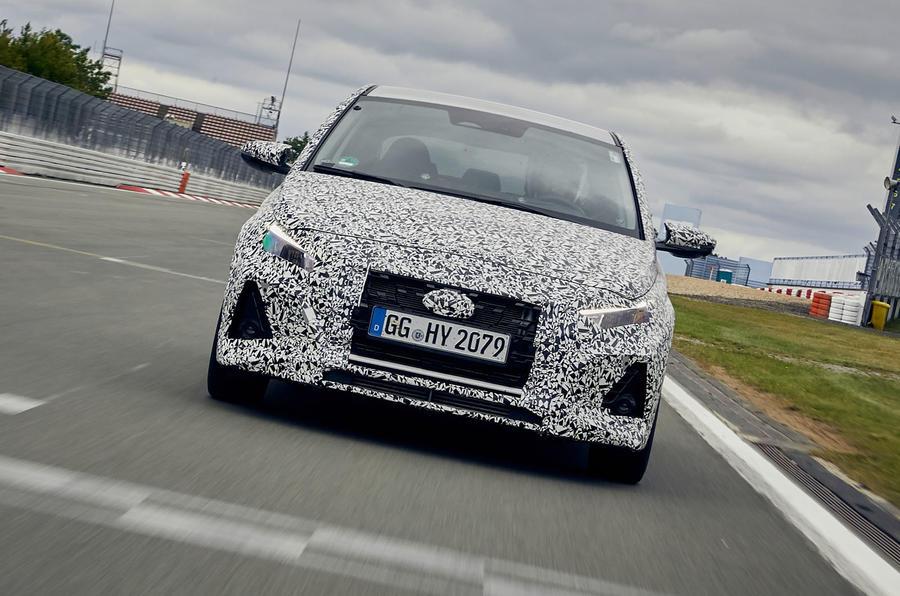 2021年现代i30 Fastback N Performance原型