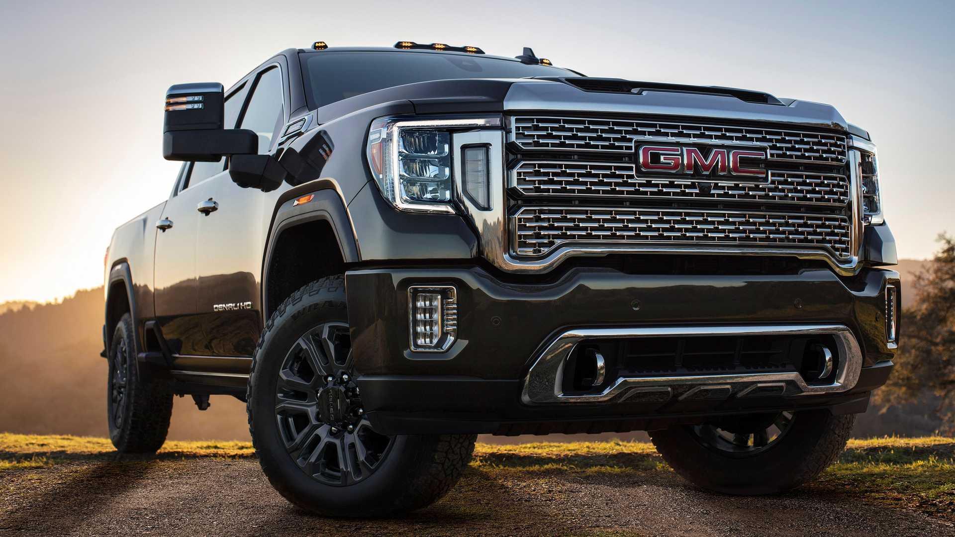 2021 GMC Sierra 1500和高清技术到货,拖曳更轻松