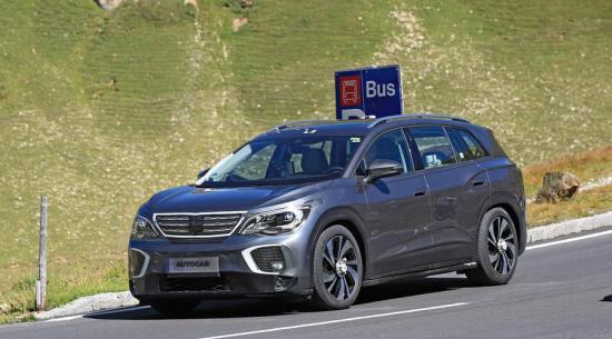 2021 大众ID 6:电动SUV出现在生产形式中