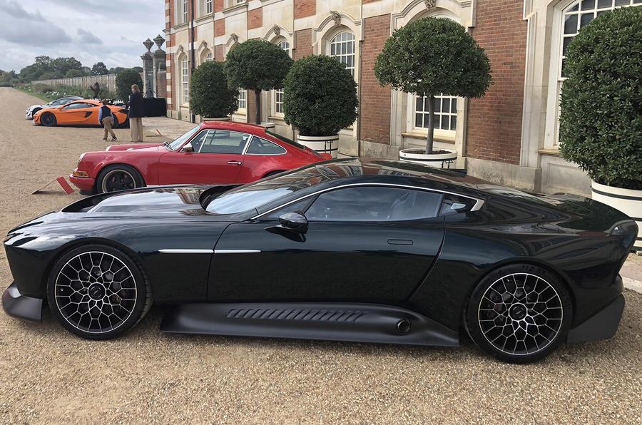 一次性的阿斯顿·马丁·维克多是合法的V12超级跑车