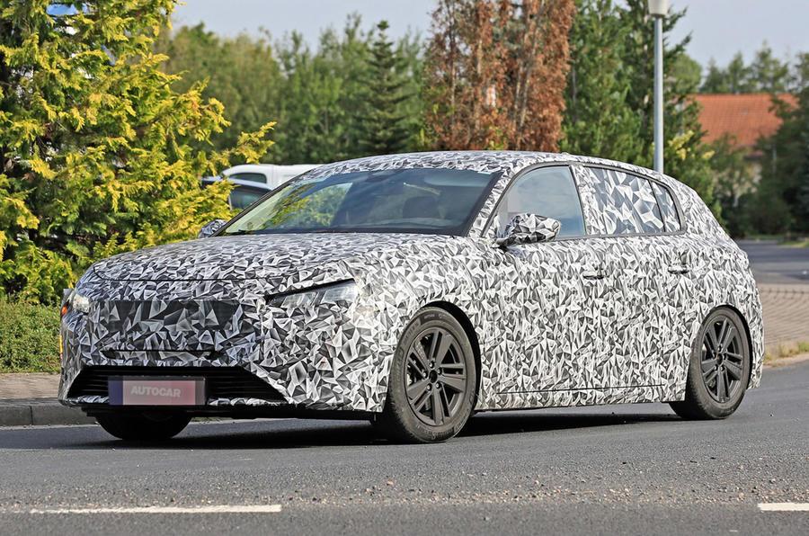 标致新车308将于2022年进行彻底设计改造