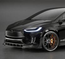 RevoZport的特斯拉Model X适用于困惑的电动掀背车外观