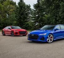 2021年奥迪RS6,RS7和RS Q8在美国推出六位数的MSRP