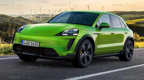 2022年保时捷Macan电动车:这就是它的样子