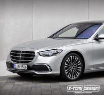 2021年梅赛德斯-奔驰S级轿车从豪华轿车转变为奢华的家庭装卸车