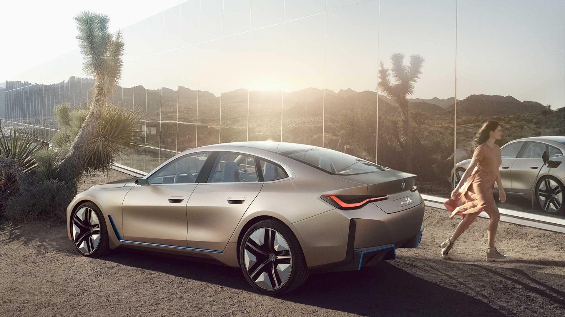 宝马i4 M车型正式确认将于2021年发布