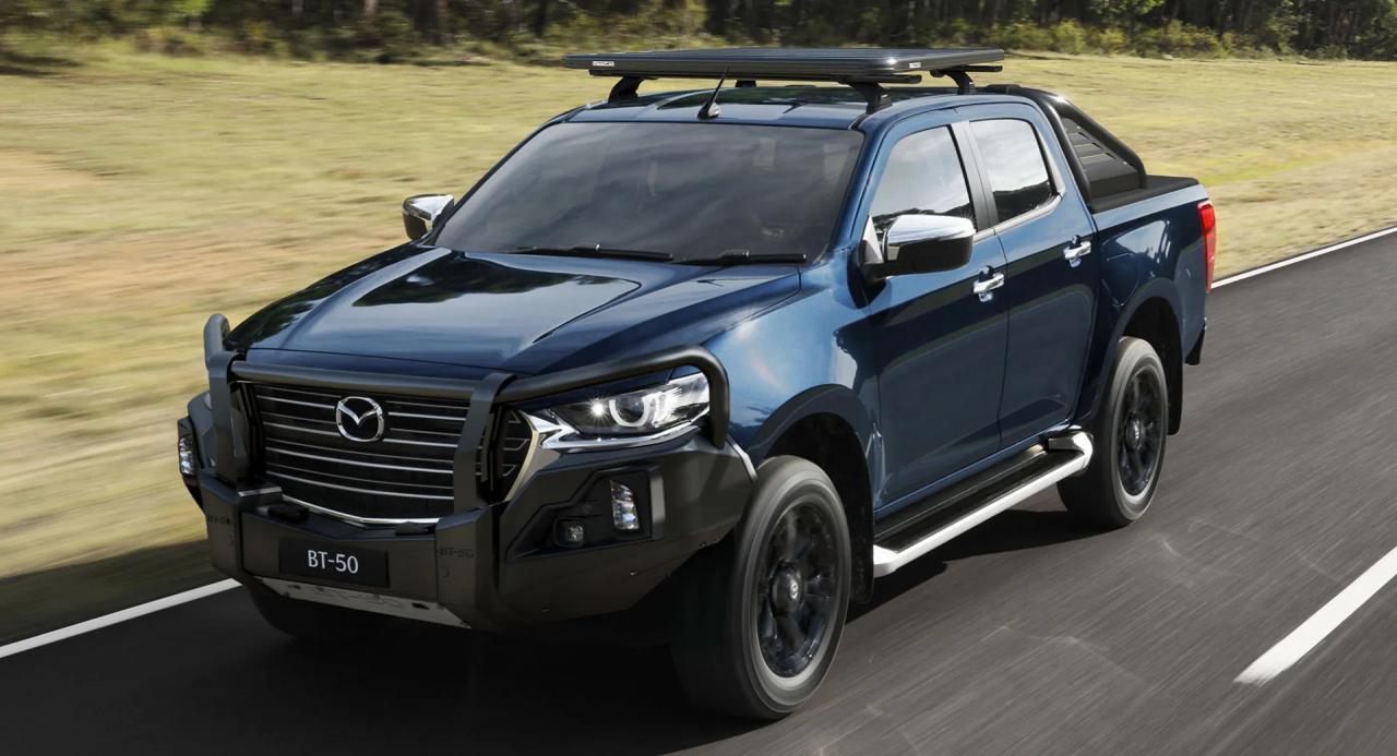 2021年马自达BT-50在澳大利亚获得了大量配件