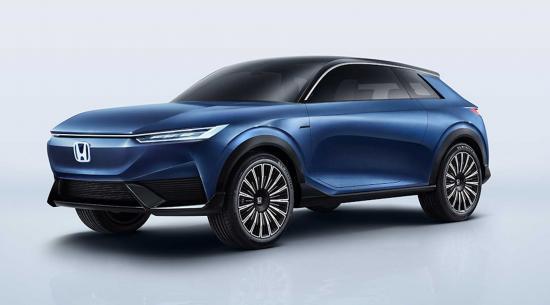 本田电动SUV概念车与下一代驾驶员辅助系统一起亮相
