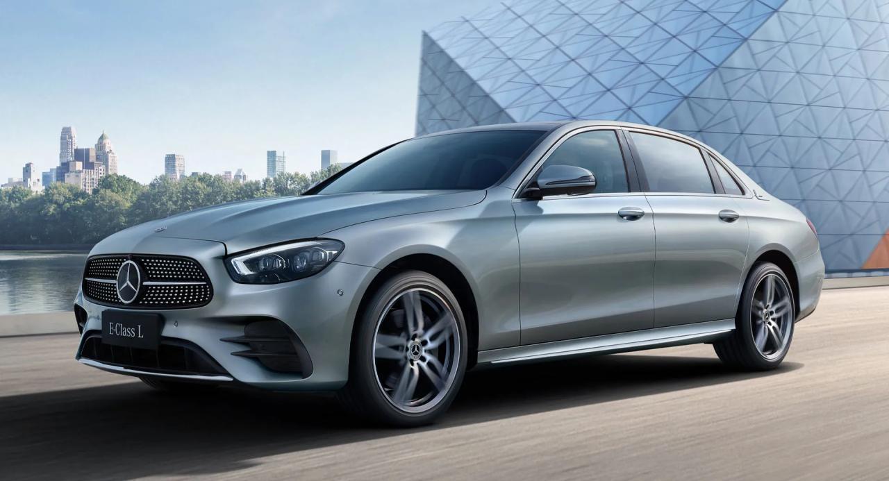 汽车资讯:2021年梅赛德斯奔驰E级L拥有更新的外观和新技术