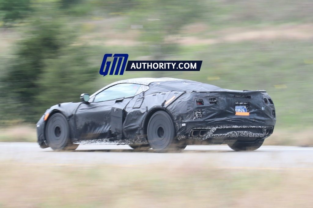 这是C8 Corvette Z06,而不是C8 Corvette Grand Sport