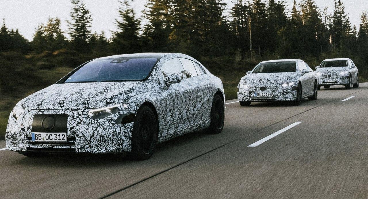 梅赛德斯-奔驰确认电动EQE轿车,EQE SUV和EQS SUV等其他电动汽车