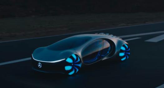 梅赛德斯-奔驰在道路测试中采用了Vision AVTR