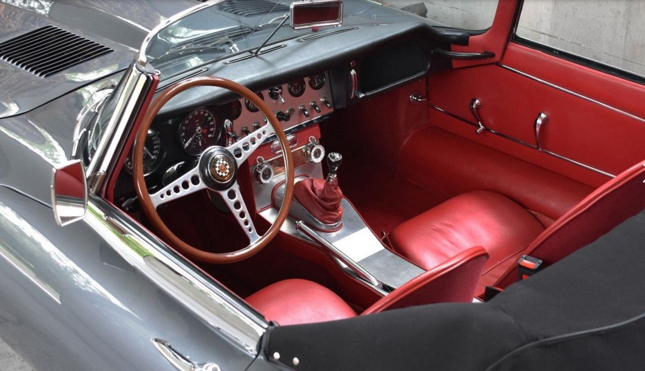 1961年捷豹E型系列1是永恒的卓越汽车产品