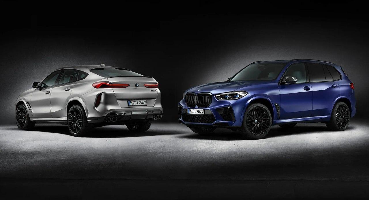 宝马X5 M和X6 M竞赛第一版发布,每个限量250辆