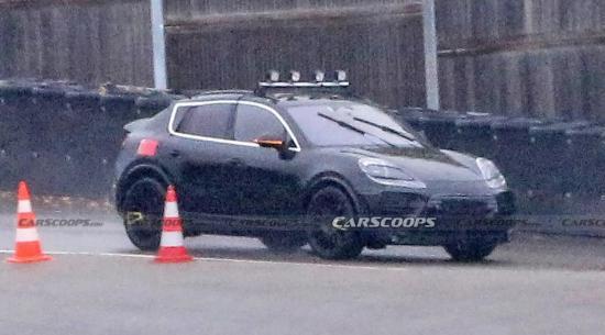 电动保时捷Macan首次采用Coupe-SUV车身