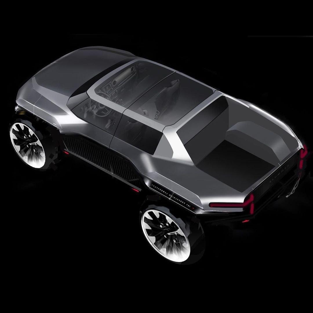 GMC悍马EV草图展示了可能发生的情况