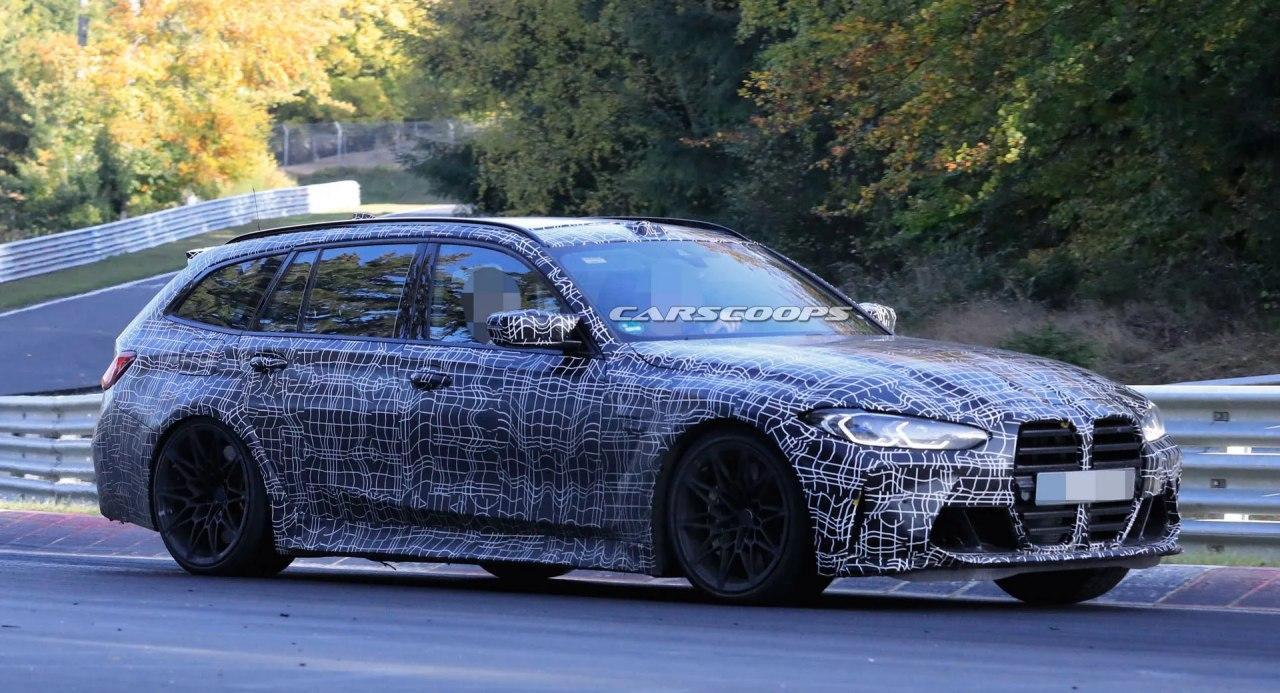 """2022年宝马M3 Touring原型将其运动环境设置为"""" Ring""""的11个"""