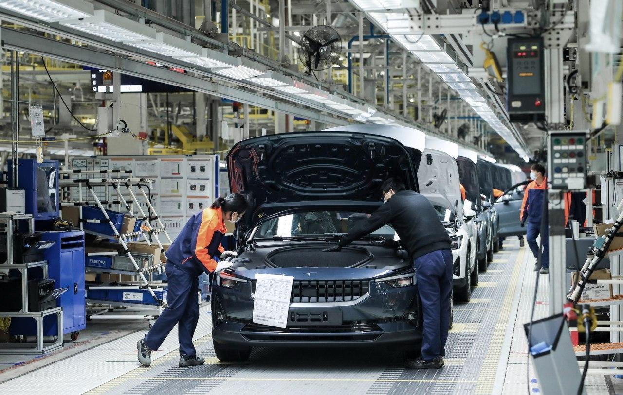 吉利在中国为Polestar计划建设新的电动汽车工厂