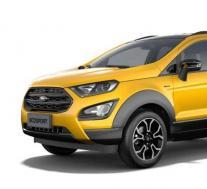 2021年福特EcoSport主动泄漏图像显示轻度坚固的SUV