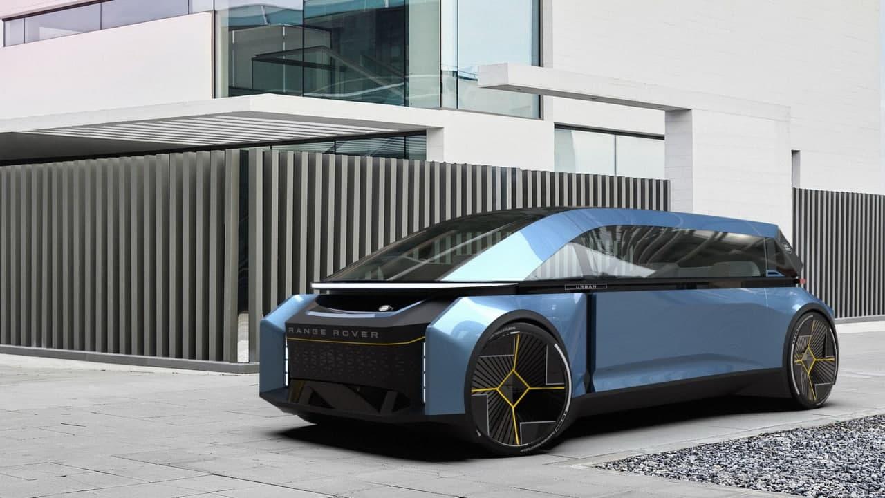 在完全自主的世界中,未来的城市生活用揽胜车会是什么样?
