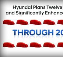 """现代汽车将在2021年底推出12款新的或""""显着增强""""的分频器"""