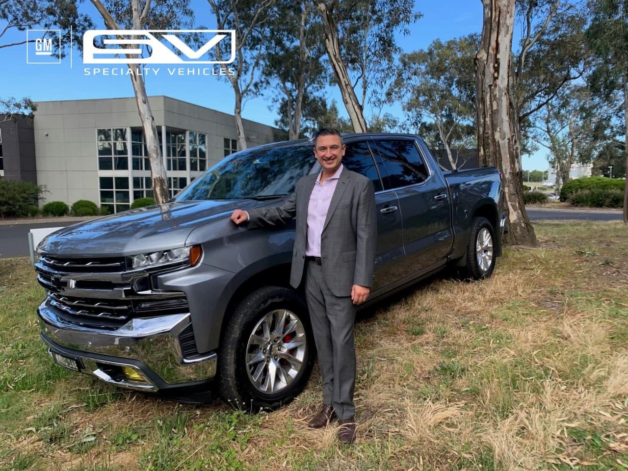 雪佛兰西尔维拉多通过通用汽车的特殊车辆部门登陆澳大利亚