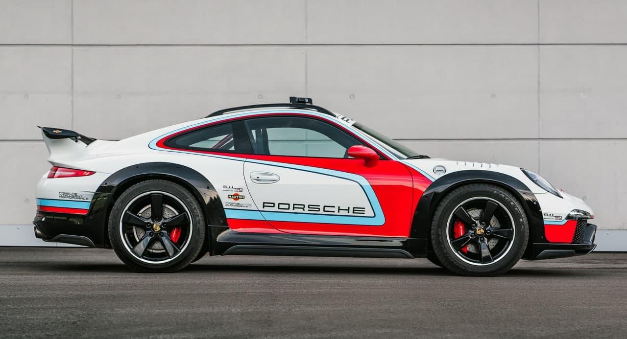 保时捷911 Vision Safari是2012年的可驾驶原型