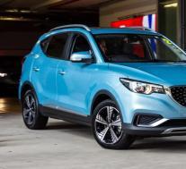 2021 MG ZS电动汽车首次降价