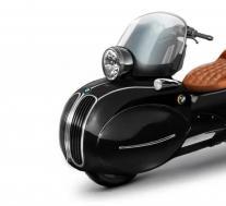 佛罗里达公司将宝马摩托车转变为实用的艺术品