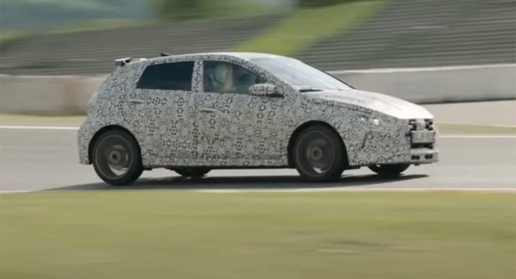 汽车实时看点现代i20 N掀背车窗看起来像是现代汽车的赢家