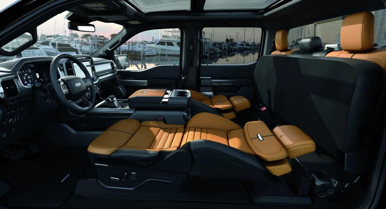 2021年福特F-150获得了新的类别最大Max斜躺座椅