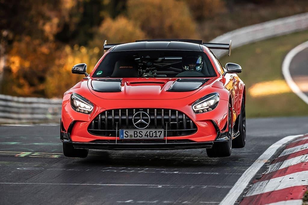 梅赛德斯-奔驰AMG GT黑色系列创造了纽伯格林纪录