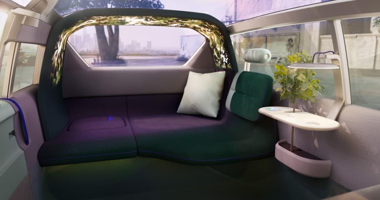 MINI Vision Urbanaut是时尚都市聚会中的未来派自主小型货车