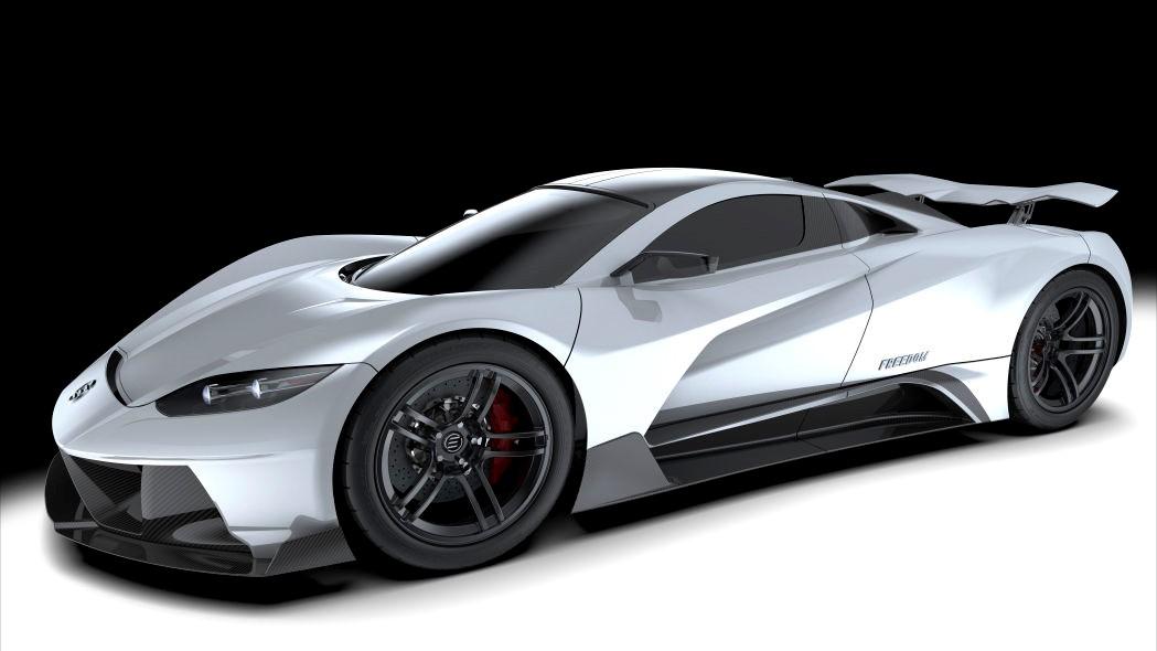 Elation Freedom是一辆1414马力的电动超级跑车
