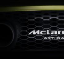 """迈凯轮的下一代混合动力超级跑车将被称为""""Artura"""""""