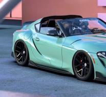 丰田GR运动型顶级版由才华横溢的艺术家渲染