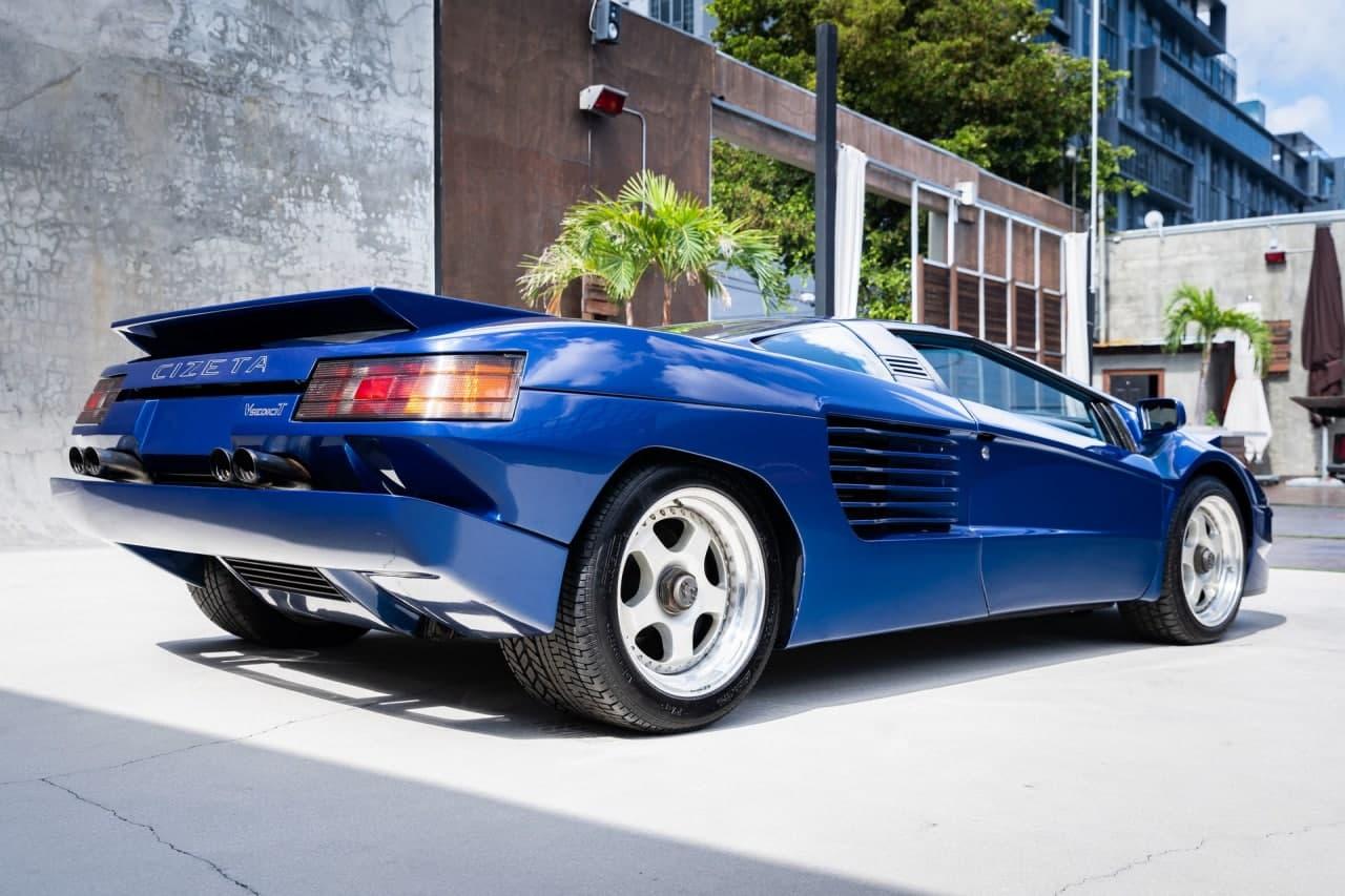 文莱苏丹拥有的罕见Cizeta V16T即将出售
