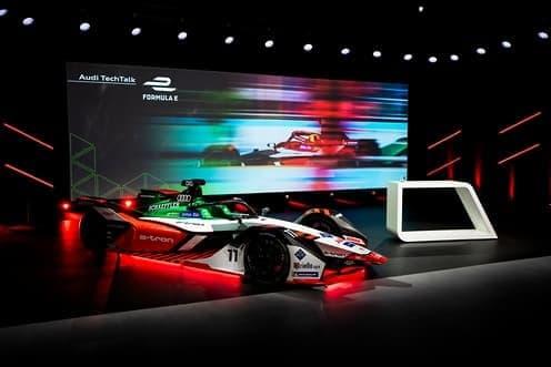 奥迪e-tron FE07赛车的轻型动力总成技术