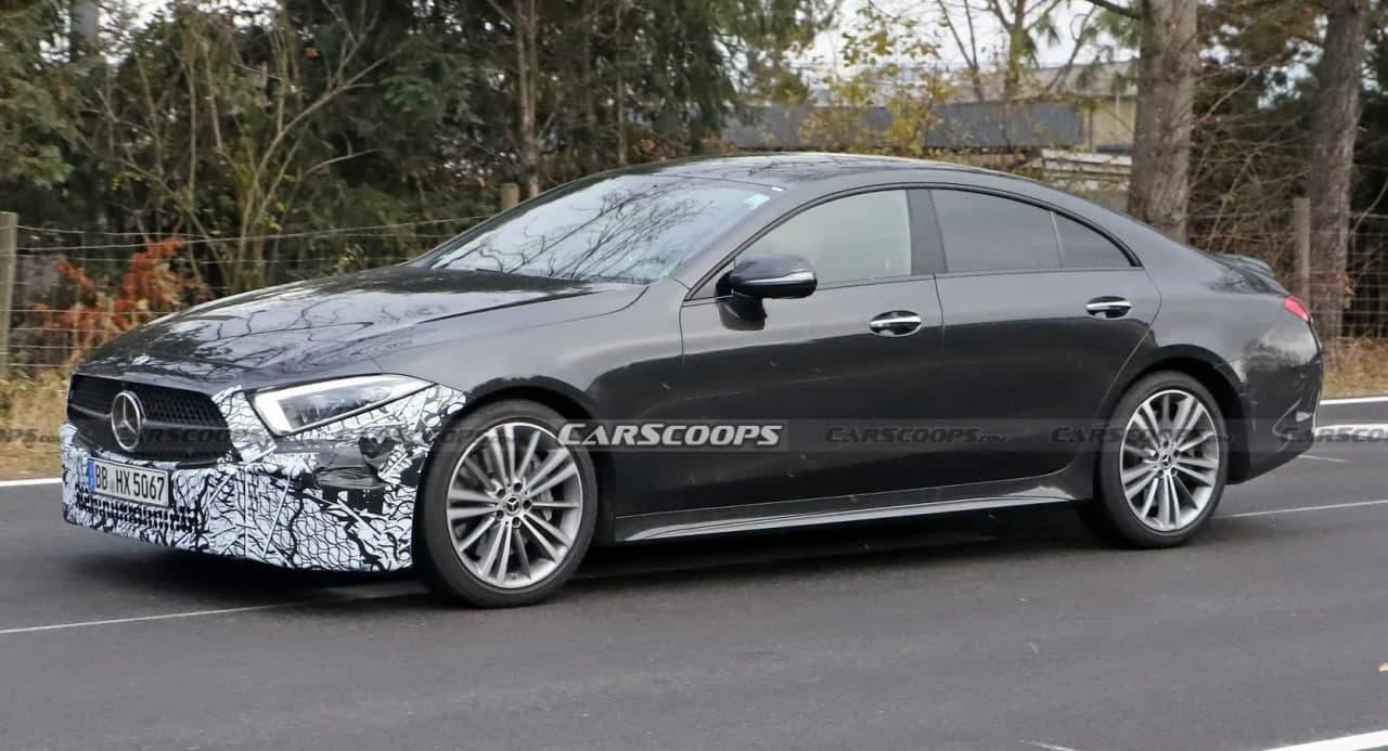 汽车动态:改头换面的2022年梅赛德斯-奔驰CLS隐藏了新的保险杠设计