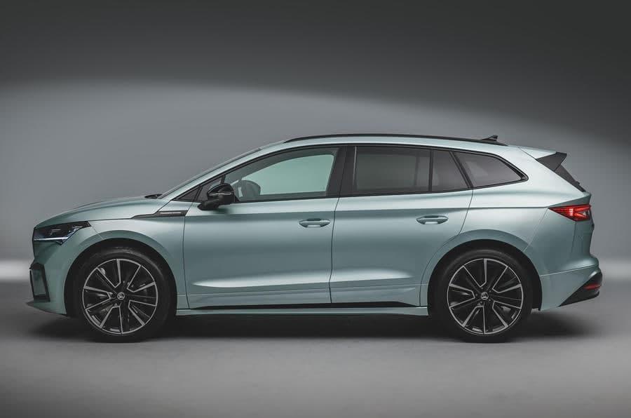 斯柯达Enyaq iV:电动SUV出厂的首例