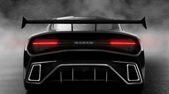 纳兰揭示了巨型四座超级跑车