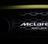 迈凯轮将其高性能混合动力超级跑车命名为Artura