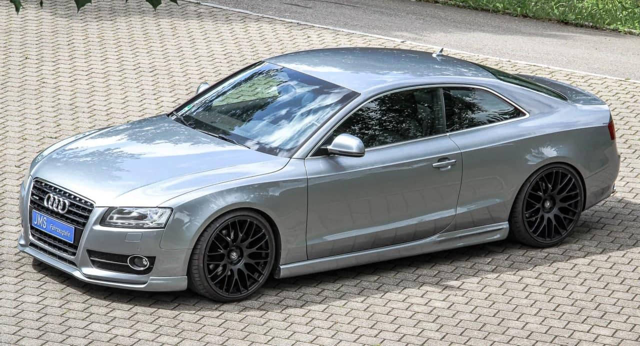 汽车动态:第一代奥迪A5 Coupe的附加组件和新轮辋