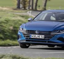 2021年大众Arteon插电式混合动力车在欧洲推出