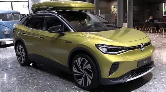 与2022年大众ID.4电动SUV亲密接触